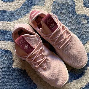 ADIDAS x Pharell HU Pink Sneakers Sz 10